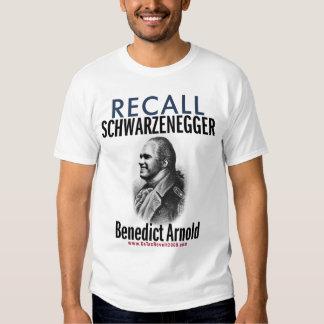 Recall Benedict Arnold - Revolt Like 1776 T-Shirt