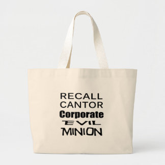 Recall Eric Cantor Koch Oil's Lap Dog Tote Bags