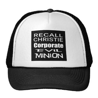 Recall Governor Chris Christie Koch Oil's Minion Trucker Hat