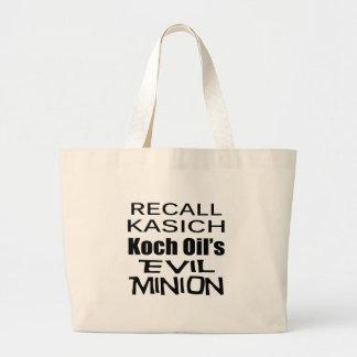 Recall Governor John Kasich Koch Oil's Minion Bags