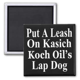Recall Governor John Kasich Koch Oil's Minion Magnet