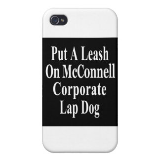 Recall Governor Mitch McConnell Koch Oil s Minion iPhone 4/4S Case