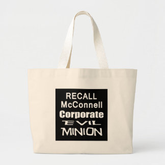 Recall Governor Mitch McConnell Koch Oil's Minion Tote Bags