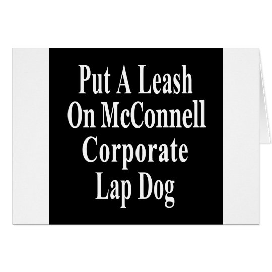 Recall Governor Mitch McConnell Koch Oil's Minion Card
