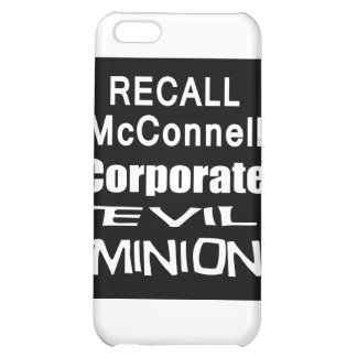 Recall Governor Mitch McConnell Koch Oil's Minion iPhone 5C Covers