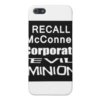 Recall Governor Mitch McConnell Koch Oil's Minion iPhone SE/5/5s Cover