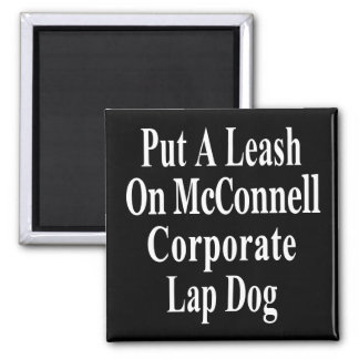 Recall Governor Mitch McConnell Koch Oil's Minion Magnet