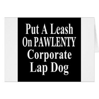Recall Governor Pawlenty Koch Oil's  Evil Minion Card