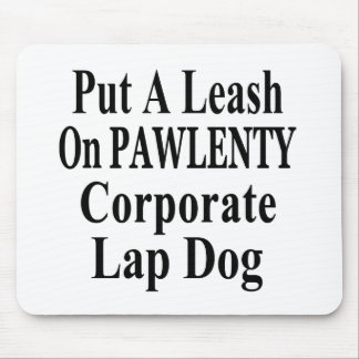 Recall Governor Pawlenty Koch Oil's  Evil Minion Mouse Pad