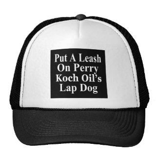Recall Governor Rick Perry Koch Oil's  Evil Minion Trucker Hat