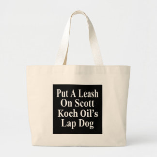 Recall Governor Rick Scott Koch Oil's  Evil Minion Canvas Bags