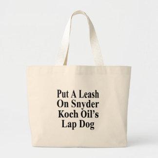 Recall Governor Rick Snyder Evil Corporate Minion Tote Bag