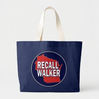 Recall Governor Scott Walker Tote Bags