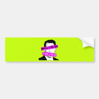 Recall Governor Scott Walker Car Bumper Sticker