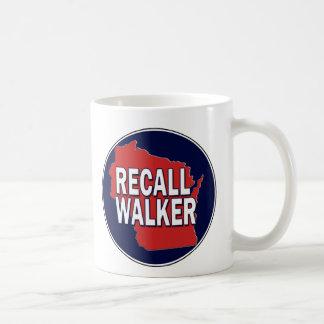 Recall Governor Scott Walker Coffee Mug