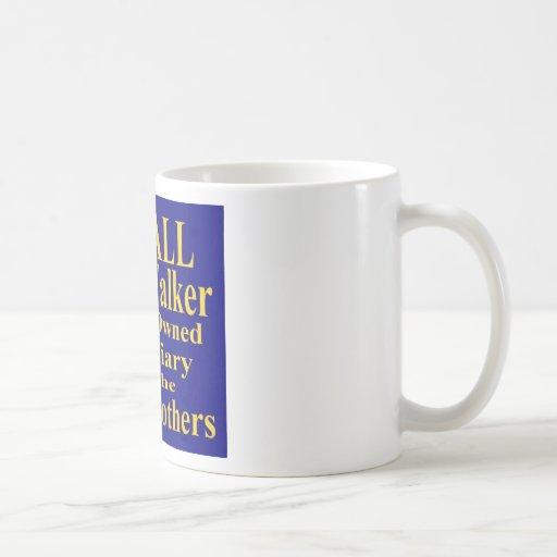 Recall Governor Scott Walker Corporate Minion Classic White Coffee Mug