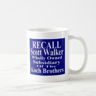Recall Governor Scott Walker Corporate Minion Coffee Mug