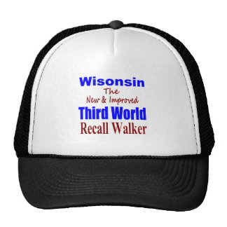 Recall Governor Scott Walker Corporate Minion Hats