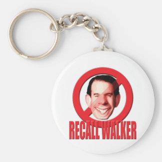 Recall Governor Scott Walker Keychain