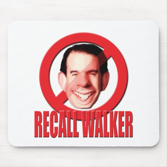 Recall Governor Scott Walker Mouse Pad