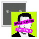 Recall Governor Scott Walker Pinback Buttons