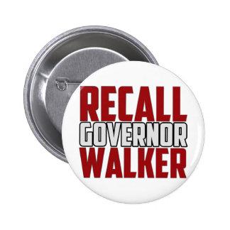 Recall Governor Walker Button