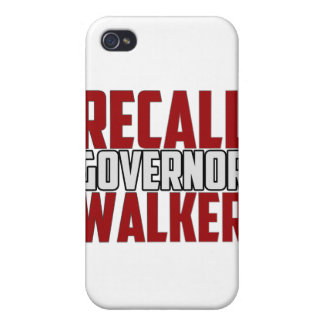 Recall Governor Walker Case For iPhone 4