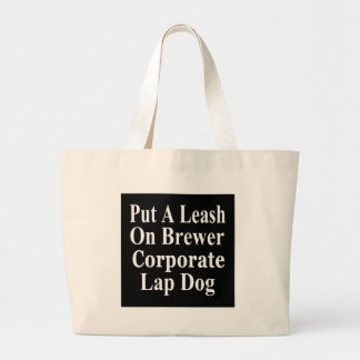 Recall Jan Brewer Evil Corporate Minion Tote Bags