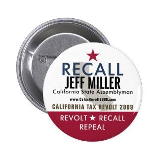Recall Jeff Miller Button