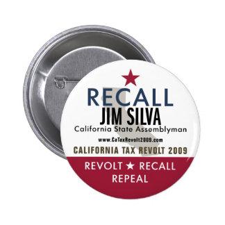 Recall Jim Silva Button