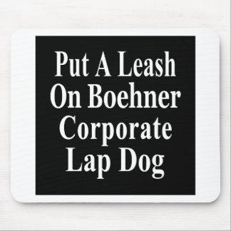 Recall John Boehner Koch Oil's Lap Dog Mouse Pad