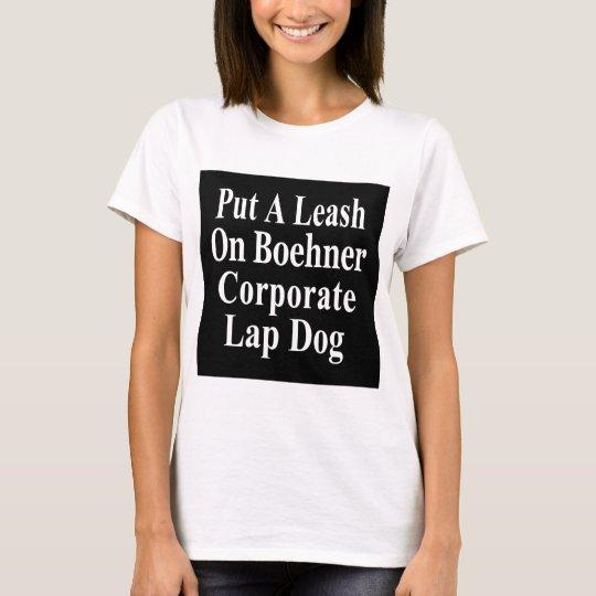 Recall John Boehner Koch Oil's Lap Dog T-Shirt