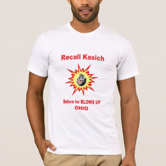 Recall Kasich NOW T-Shirt
