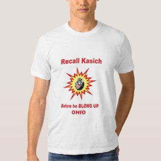 Recall Kasich NOW Tshirt