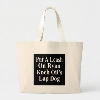 Recall Paul Ryan Koch Oil's Evil Minion Jumbo Tote Bag