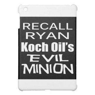 Recall Paul Ryan Koch Oil's Evil Minion iPad Mini Cover