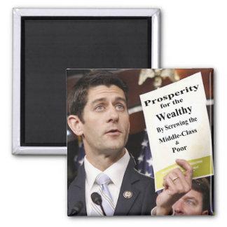 Recall Representative Paul Ryan 2 Inch Square Magnet