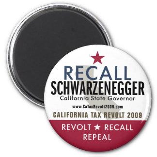 Recall Schwarzenegger Magnet