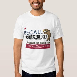 Recall Schwarzenegger - Revolt T-Shirt
