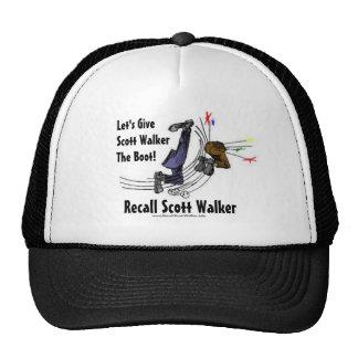 Recall Scott Walker Hat