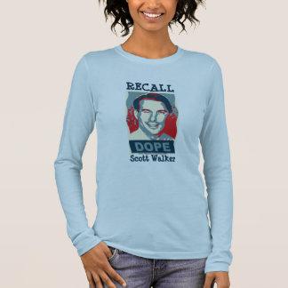 Recall Scott Walker Long Sleeved Shirt
