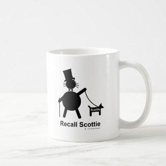 Recall Scottie Coffee Mug