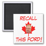 Recall This Ford! Refrigerator Magnets