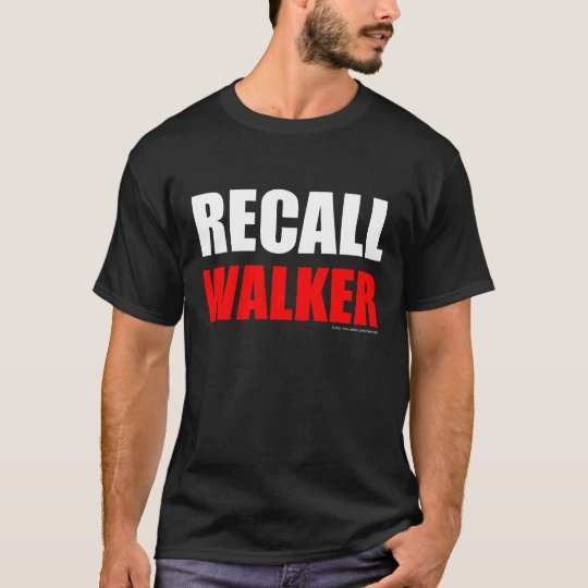 Recall Walker (dark colors) T-Shirt