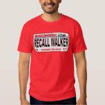 Recall Walker - License Plate Design T-Shirt