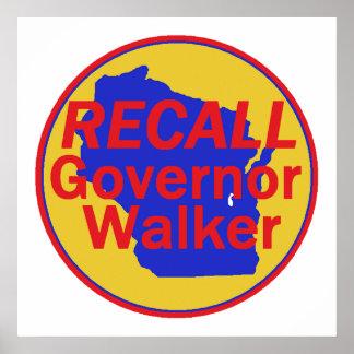 RECALL Walker POSTER Print