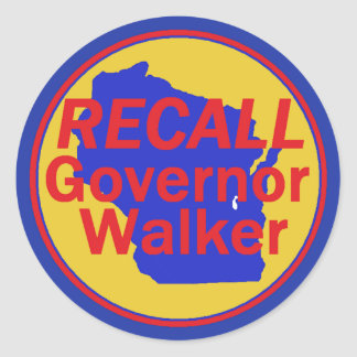 RECALL Walker Sticker