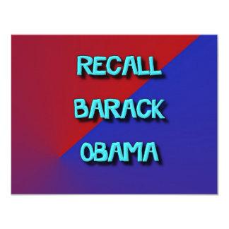 RecallBarack-2 Card