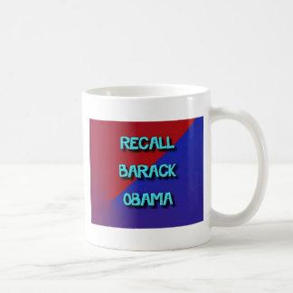 RecallBarack-2 Taza