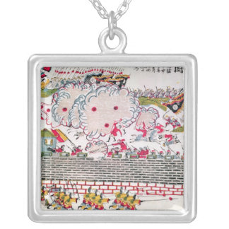 Recapture of Bac Ninh Silver Plated Necklace